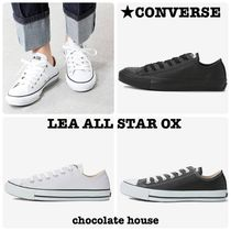 国内発送 定番【CONVERSE】 ALL  STAR  LEATHER OX レザー