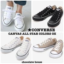 国内発送 定番【CONVERSE】 CANVAS ALL STAR COLORS OX カラーズ