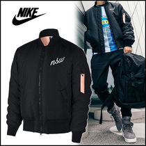 ナイキ ボマー ジャケット Nike NSW Fill Bomber Jacket BLACK