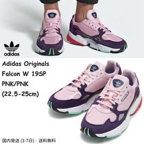 19SP!! 国内発送★ adidas FALCON W BD7825★ ピンク/パープル