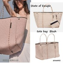 Aus発♡State of Escape トートバッグ Blush ブラッシュ