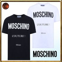 Moschino(モスキーノ) Tシャツ・カットソー ∞Moschino∞ moschino+coutureプリントJersey Tシャツ 関送込!!