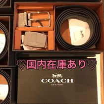 Coach ◆ギフトボックス付きベルトセット◆人気商品◆ 関税込み