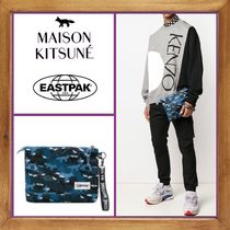 ★MAISON KITSUNE×Eastpak 《 PRINTED CLUTCH BAG 》送料込み★