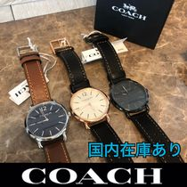 Coach ◆ メンズ腕時計 *ギフトボックス付き* ★人気★ 送料込み