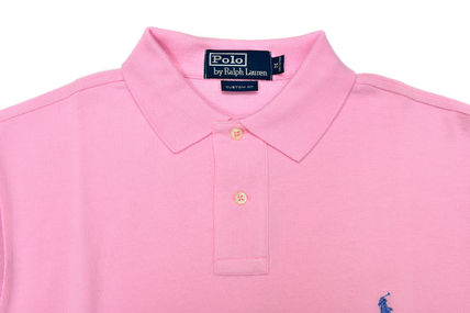 POLO RALPH LAUREN ポロシャツ 【即発可】POLO RALPH LAUREN CUSTOM FIT 長袖 ポロシャツ PINK(4)