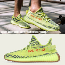 adidas★YEEZY BOOST 350 V2★SEMI FROZEN YELLOW★ゼブラ柄