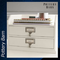 Pottery Barn BEDFORD TWO-DRAWER PAPER 収納 インテリア