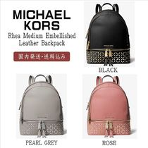 Michael Kors【国内発送】Rhea Medium Embellished Backpack☆