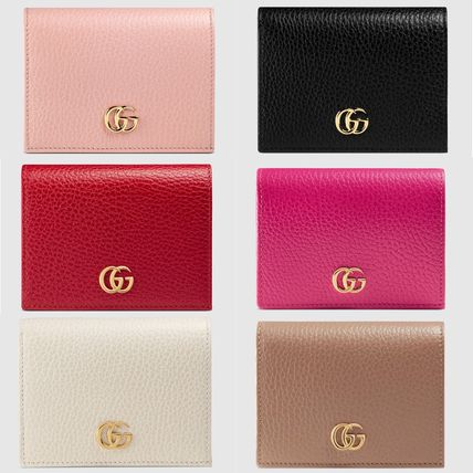 outlet store 5aa70 901bc GUCCI プチ マーモント レザー カードケース ミニウォレット
