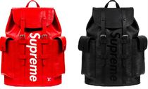 Supreme x LOUIS VUITTON Christopher Backpack バックパック 赤