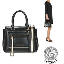 Versace Jeans★関税込み☆ロゴチャーム付き☆2WAYバッグ