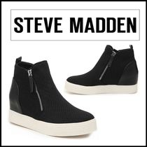 送料込★STEVE MADDEN Womens Loxley Wedge High-Top スニーカー