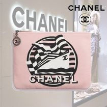 ★CHANEL★  ポーチ/ピンク