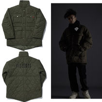 ★OVERR★TOME.5 QUILTING KHAKI FIELD JACKET★ジャケット