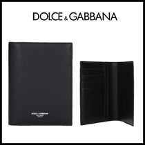 D&G textured leather パスポートホルダー【国内発】