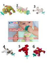 海外大人気☆WubbaNub Infant Baby Soothie Pacifier☆0〜12ヶ月