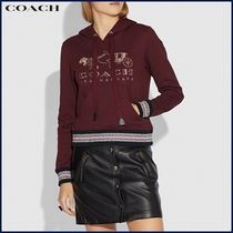 Coach(コーチ)★レトロな柄が可愛い♪Rexy And Carriage Hoodie