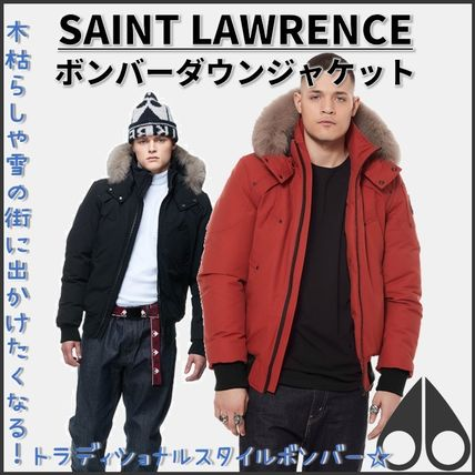 MOOSE KNUCKLES★SAINT LAWRENCE BOMBER★クラッシックボンバー