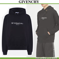 GIVENCHYジバンシィ新作★ロゴフーディー Vintage jersey hoodie