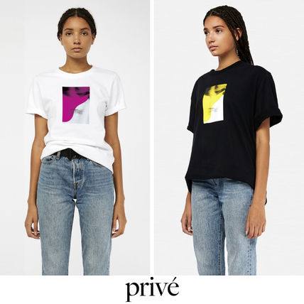 Prive Tシャツ・カットソー Prive◆Motion T-shirt REGULAR LOSE FIT Tシャツ