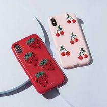 【日本未入荷】Sonix iPhone (X,XS) strawberry Patent 送/関込