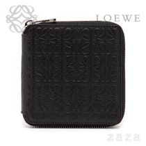 LOEWE★ロエベ Square Zip Wallet Black