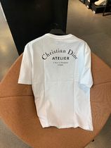 "【Dior】""CHRISTIAN DIOR ATELIER""プリント Tシャツ (White)"