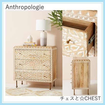 【Anthropologie・大型家具取扱】チェスト☆Handcarved Drawer