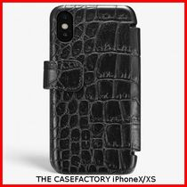 関税送料込☆THE CASEFACTORY☆IPHONE X/XS CARDCASE CROCODILE