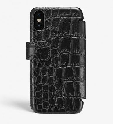 THE CASE FACTORY スマホケース・テックアクセサリー 関送込☆THE CASEFACTORY☆IPHONE XS MAX CARD CASE CROCODILE(2)