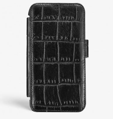 THE CASE FACTORY スマホケース・テックアクセサリー 関送込☆THE CASEFACTORY☆IPHONE XS MAX CARD CASE CROCODILE(3)