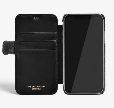 THE CASE FACTORY スマホケース・テックアクセサリー 関送込☆THE CASEFACTORY☆IPHONE XS MAX CARD CASE CROCODILE(4)