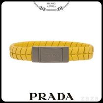 PRADAプラダ 2IB150 SAFFIANO LEATHER BRACELET