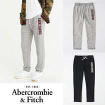 Abercrombie&Fitch*国内発送(追跡有送関込*ロゴスウェットパンツ