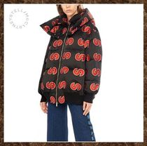 Stella McCartney★All Over Logo Down Jacket★ 《送料込み》