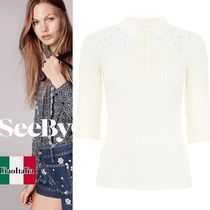 See by Chloe Polo Shirt With Lace