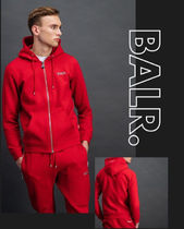 BALR.RED Q-SERIES ZIPPED HOODIE RED