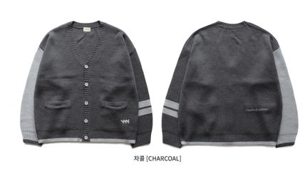 WV PROJECT カーディガン WV PROJECT★Loose touch Cardigan 4カラー- MJOT7117(13)