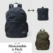 Abercrombie&Fitch*国内発送(追跡有送関込*携帯折り畳みリュック