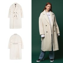 ANOTHER FRAME(アナザーフレーム) コートその他 日本未入荷 [ANOTHER FRAME] FLEECE DOUBLE BUTTON COAT