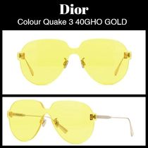 Dior★COLOR QUAKE 3 40GHO GOLD★サングラス★送関込