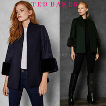 ★TED BAKER★RILLY★フェイクファーカフつきコート★