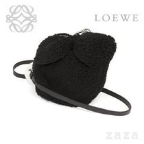 LOEWE★ロエベ Bunny Mini Bag Black