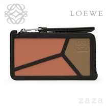 LOEWE★ロエベ Puzzle Coin/Card Holder Pink Tulip/Mocca