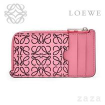 LOEWE★ロエベ Coin/Card Holder Wild Rose/Black