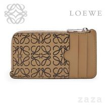 LOEWE★ロエベ Coin/Card Holder Mocca/Black
