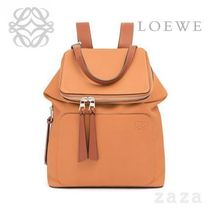 LOEWE★ロエベ Goya Small Backpack Light Caramel/Pecan Color