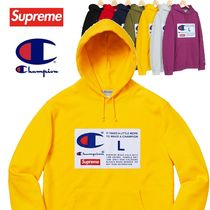 Supreme Champion Label Hooded Sweatshirt AW 18 WEEK 18