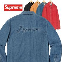 Supreme シュプリーム Sherpa Lined Denim Shirt AW 18 WEEK 18